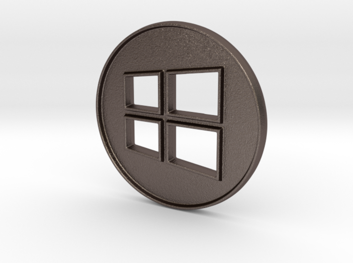 Giant Windows Coin (6 inches) 3d printed