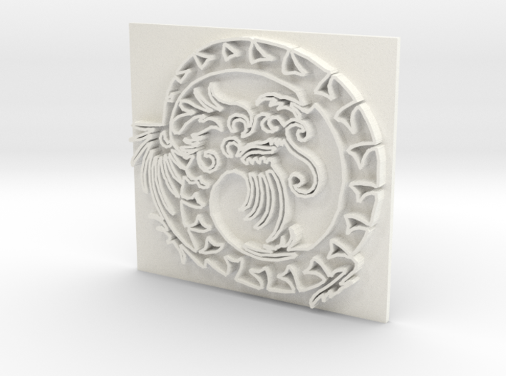 Dragon6 3d printed