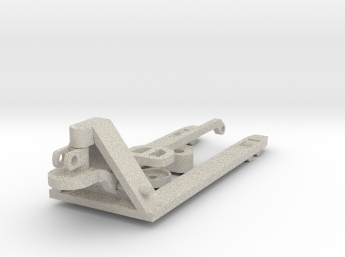 Manual pallet truck 1:50 3d printed
