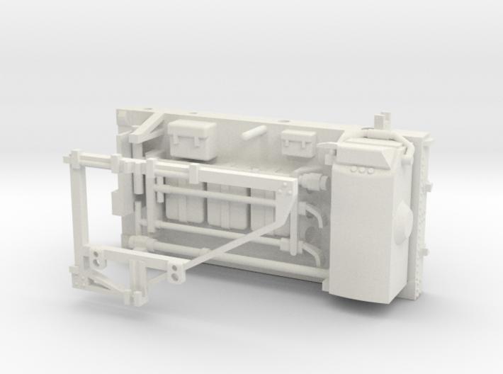 11C-Rear Pallet - Apollo 17 With Gravimeter Attach 3d printed