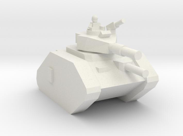 [5] Main Battle Tank (w/ Commander) 3d printed