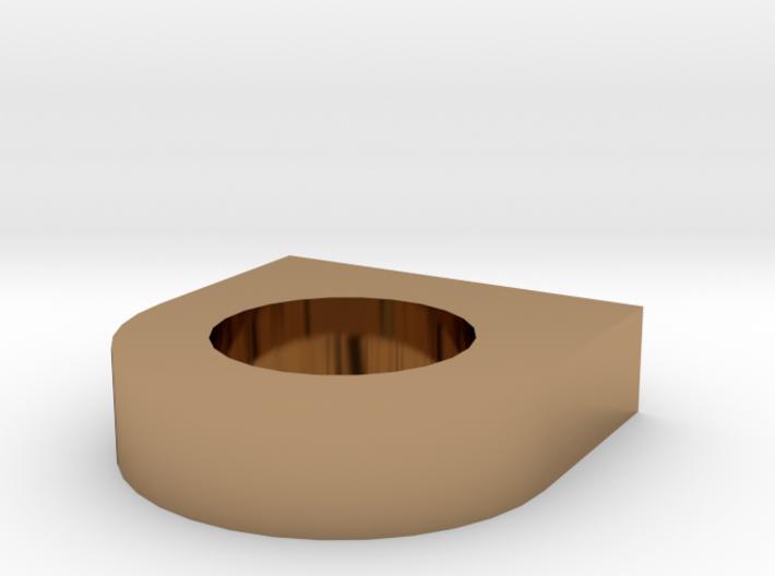 Shield Candleholder 3d printed