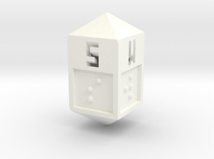 Braille Direction Die 3d printed