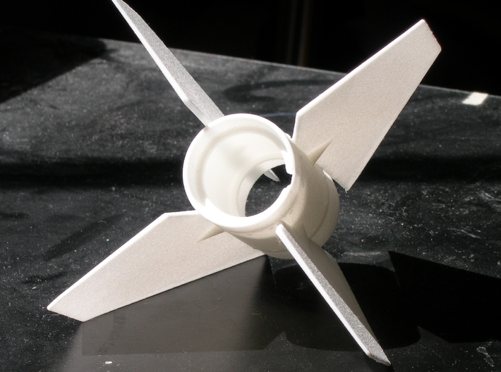 Sandia Tomahawk  Fin Unit BT50 for 18mm motors 3d printed