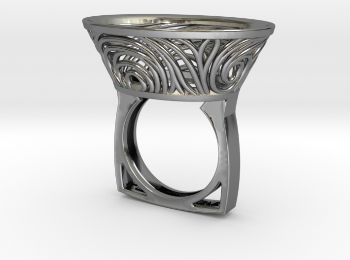 Constantina Contemporary - nest ring 3d printed