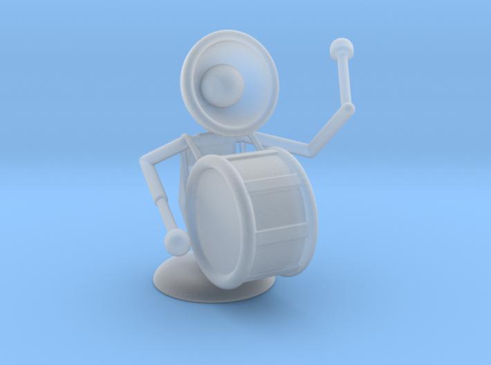 "Lala ""Playing Drums"" - DeskToys 3d printed"