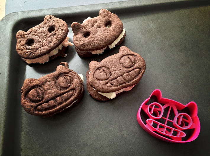 Cookie Cat Cookie Cutter 3d printed Share Cookies with your fellow Gems