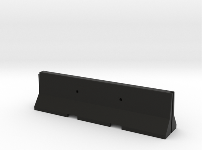 1/50 Jersey Barrier (10 ft/3m) [3 Pack] 3d printed
