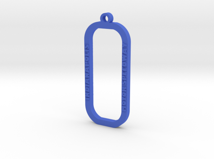 Indianapolis Motor Speedway Key Chain 3d printed