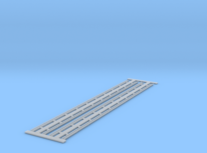 Roof Gutters - 4 lengths X 30 Ft - HO 3d printed