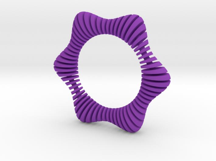 Floors Bracelet 01 3d printed
