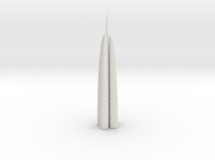 Anki & Guild Cityscape - The Spire 3d printed