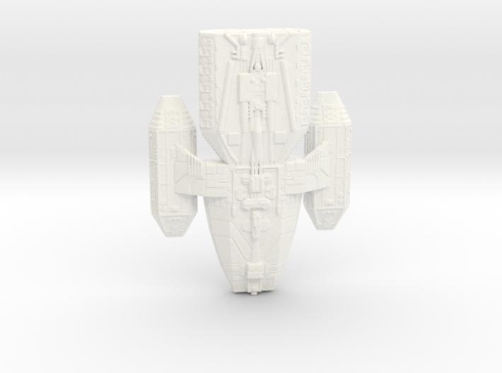 battlestar valiant 3d printed