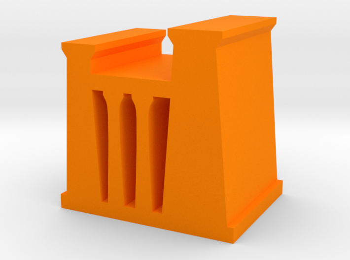 Game Piece, Egyptian Temple, Palace 3d printed