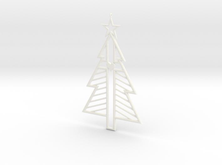 Christ-mas Tree 3d printed