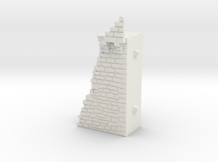 NF7 Modular fortified wall 3d printed