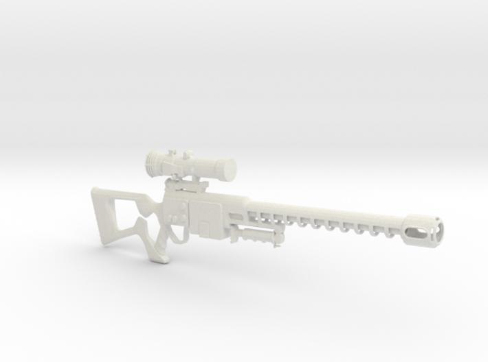 Fallout 3 Sniper 3d printed
