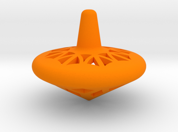 Medium Spin Top 3d printed