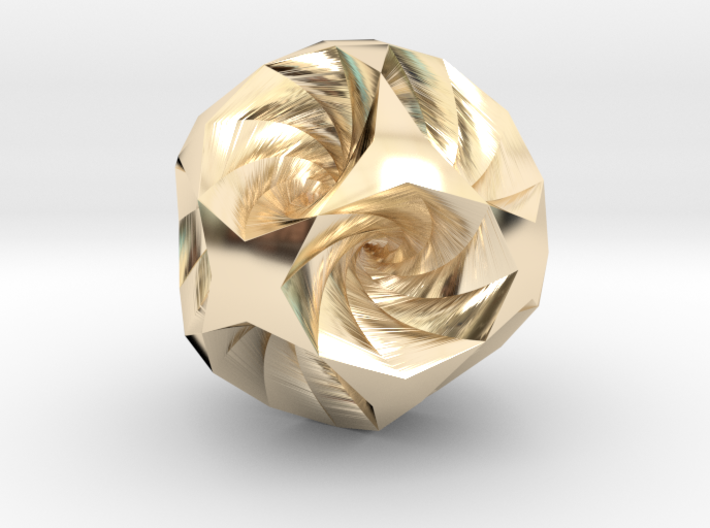 Vortex pendant 3d printed