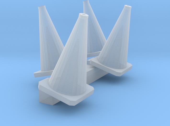 4 Leitkegel (N 1:160) 3d printed