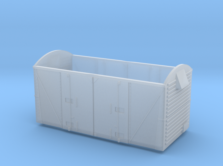 Budget VEA Vanwide for PECO 10ft chassis 3d printed Frosted Ultra Detail
