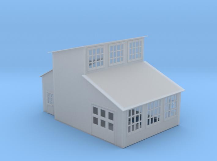 Machine Shop Z Scale 3d printed Machine Shop Z scale