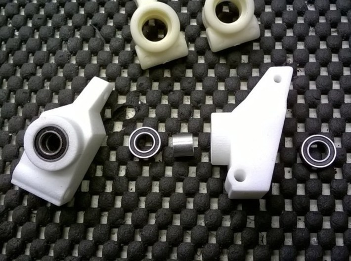 '91 Worlds Conversion - Rear Hubs 3.0 3d printed