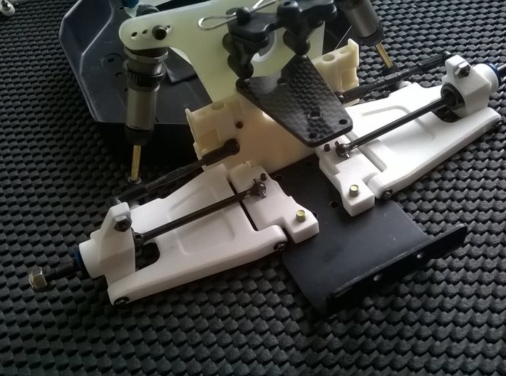 '91 Worlds Conversion - Rear Arm 3-2 Mounts 3d printed