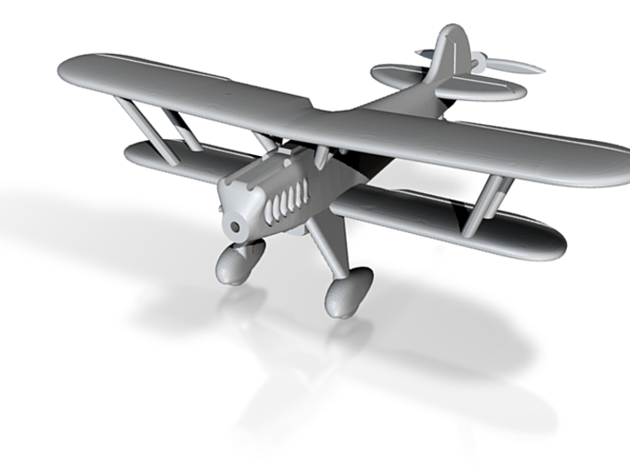 1/100 Heinkel He-51 3d printed