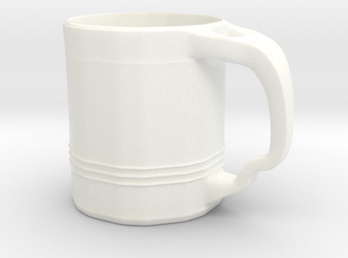 Tri Line Mug 3d printed