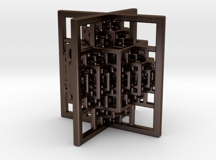 Beamed CuboOctahedron Mini 3d printed