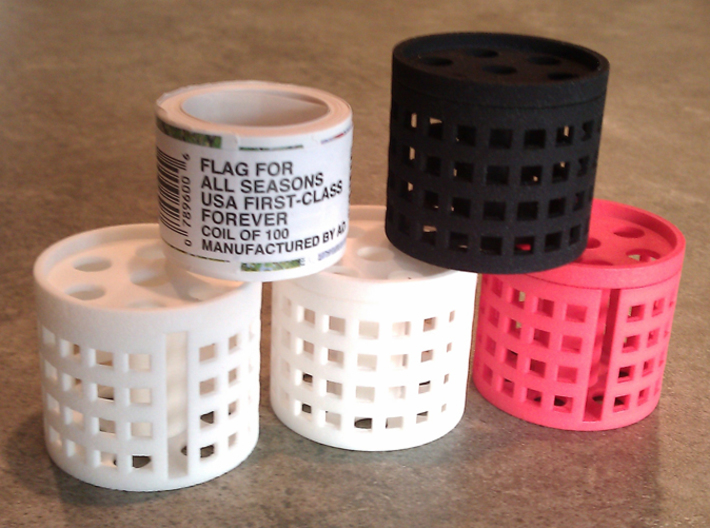 stamp roll dispenser The Postmaster 3d printed
