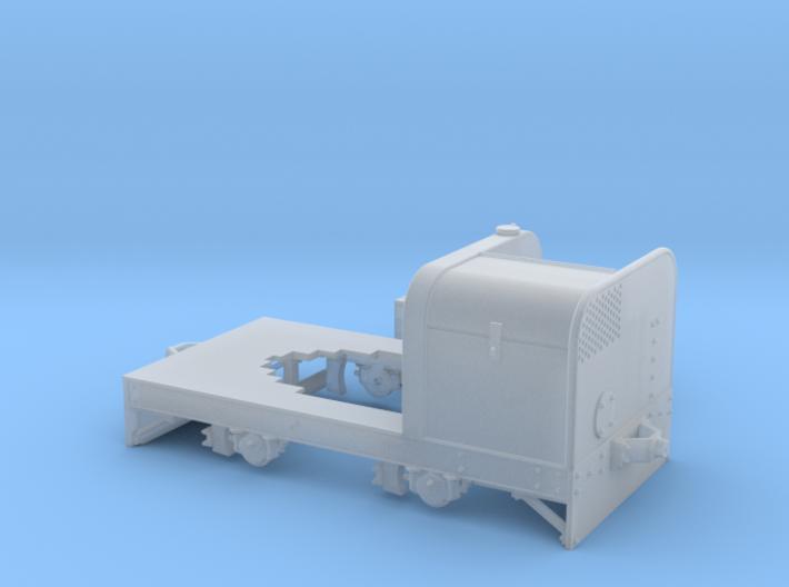 Jung Feldbahntriebwagen Spur 0e/f Variante 1 3d printed