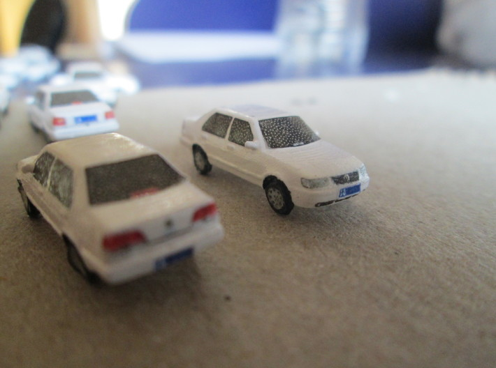5 pack n scale FAW-VW jetta king MK2 CiF 3d printed