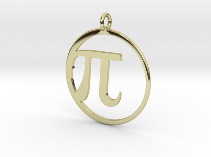 Pi Pendant 3d printed
