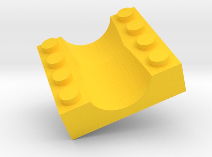 C4 2-Way Split 3d printed