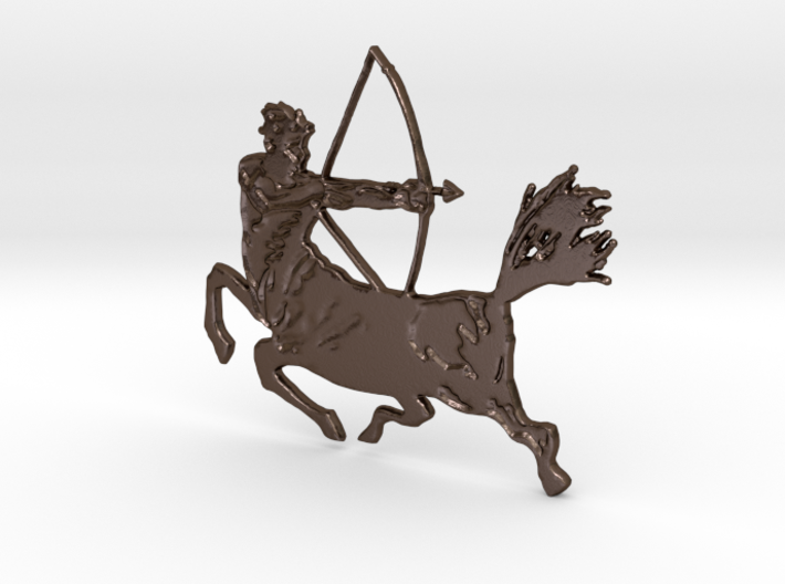 Centaur with bow 3d printed