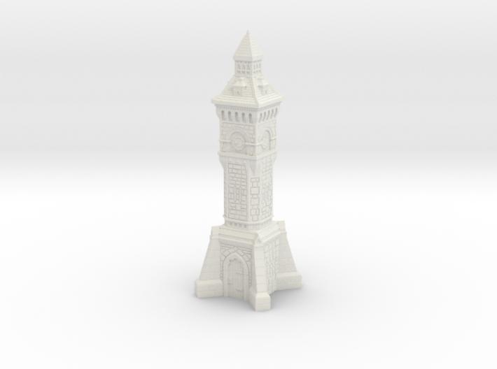 TT Gauge - Victorian Clock Tower 3d printed