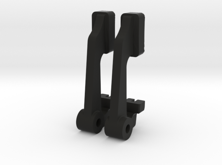 Wirraway Gun Button 3d printed