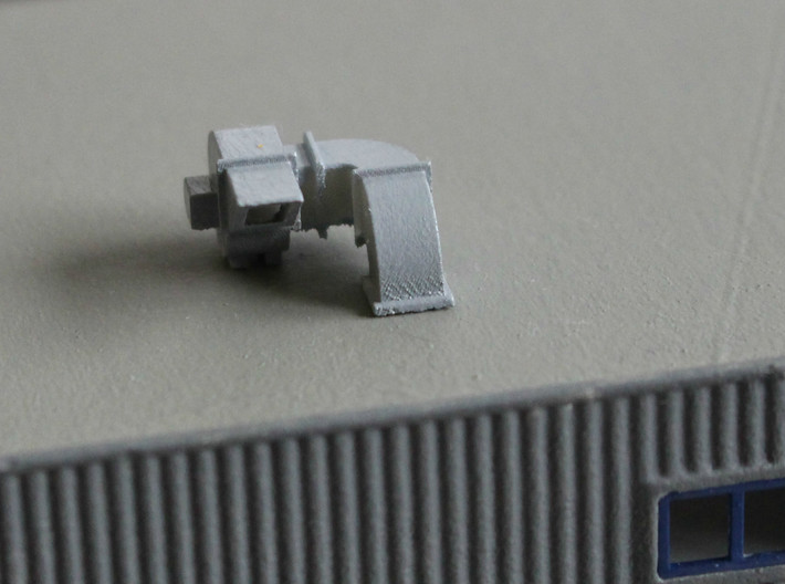 N Scale 2x Rooftop Fan #2 3d printed