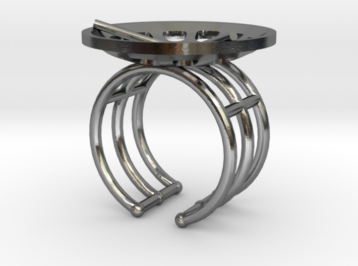 """Low Tenor """"Essence"""" Ring 3d printed"""