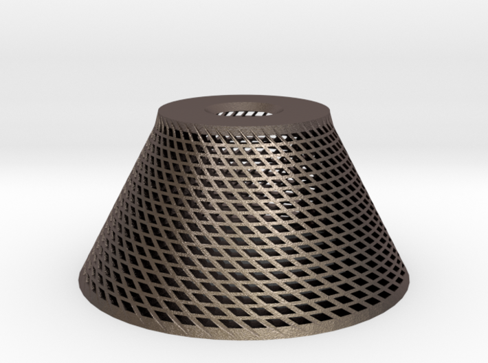 Conical Lampshade 3d printed
