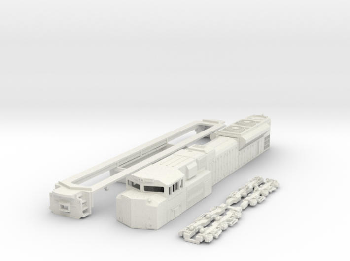 TT Scale SD70ACe 3d printed