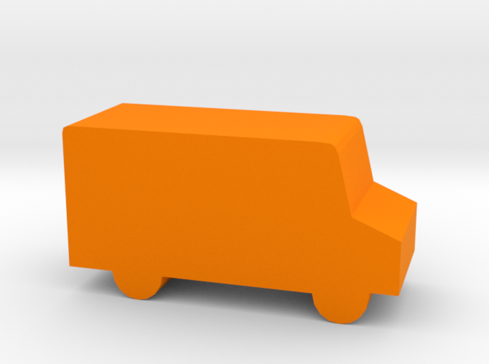 Game Piece, Delivery Truck 3d printed