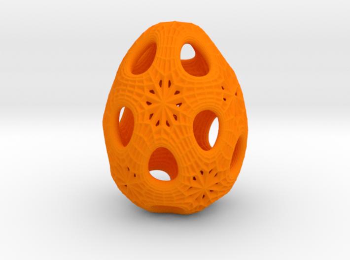Christmas egg 1 3d printed