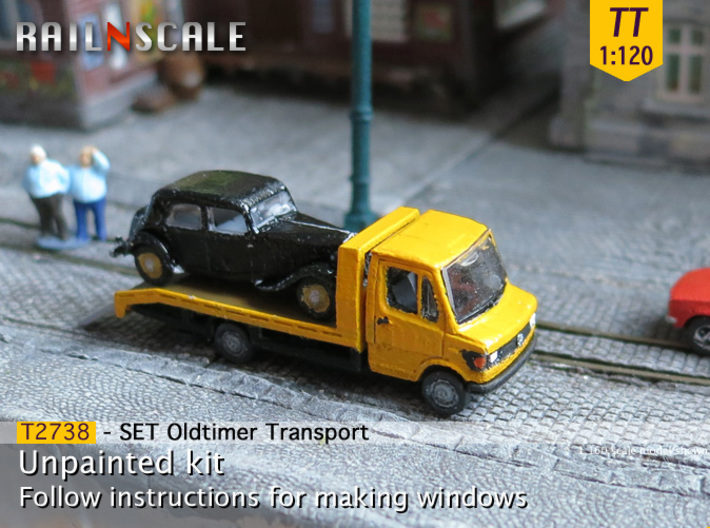 SET Oldtimer Transport (TT 1:120) 3d printed