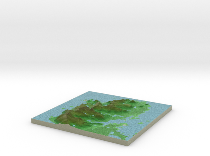 Terrafab generated model Sat Nov 14 2015 02:17:08 3d printed