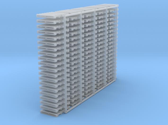 """N scale 40""""x48"""" pallet - 100 pack 3d printed"""