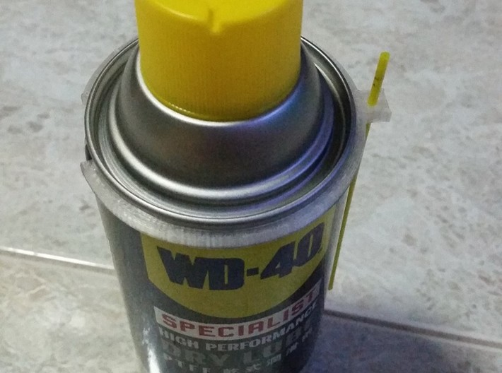 WD-40 360ml can straw holder 3d printed