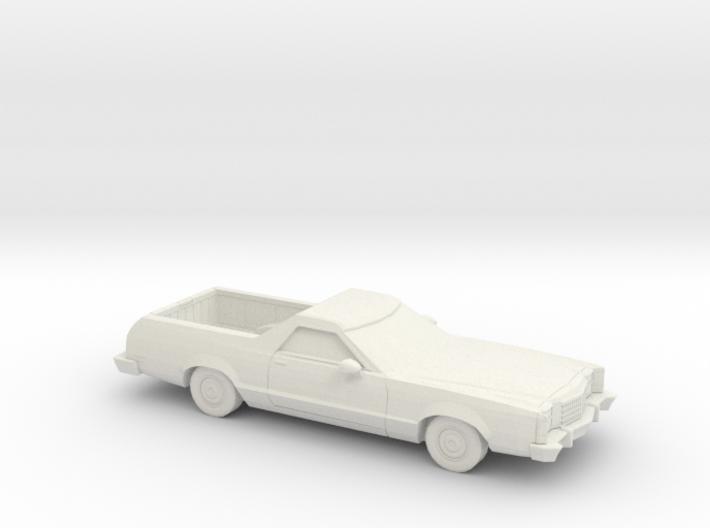 1/87 1977-79 Ford Ranchero 3d printed